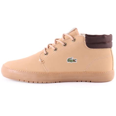 lacoste thill terra blw womens synthetic trainers