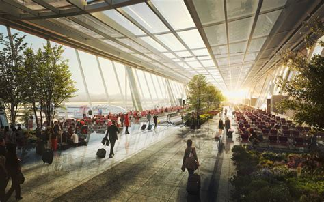 designboom norman foster foster partners reveals taiwan airport terminal proposal