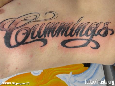 cursive name tattoos 84 best name tattoos on back