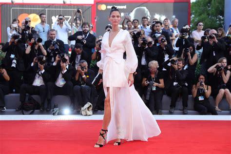 bianca balti red carpet 2018 bianca balti ovs festival del cinema di venezia 2017