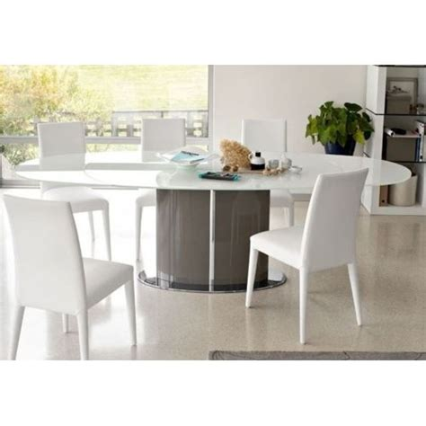 table ronde a rallonge 391 inside75 calligaris table repas ovale extensible odyssey