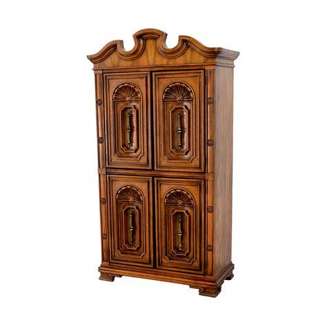 buy wardrobe armoire 90 off seaman s seaman s carved wood armoire storage