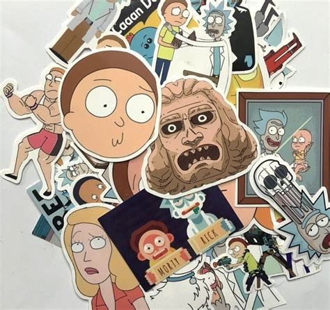 Rick And Morty Stickers Uk