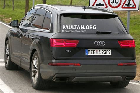 Neue Audi Q7 by Enttarnt Der Neue Audi Q7 Mein Auto