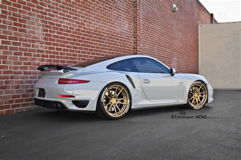 porsche turbo wheels porsche 991 turbo s adv5 2 m v2 sl manbronze wheels