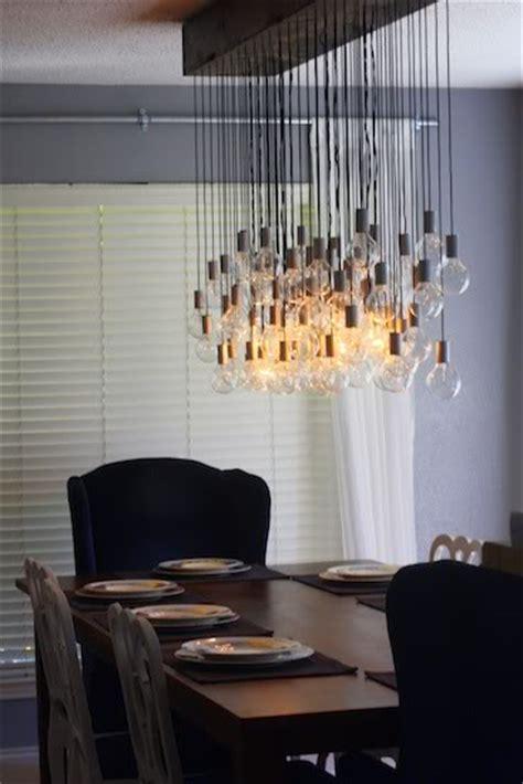 Diy dining room light i m a diy wanna be pinterest diy pendant light pendant lighting
