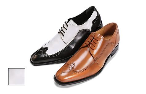 new s liberty dress shoes all leather wing tip oxford two tone l 750 ebay