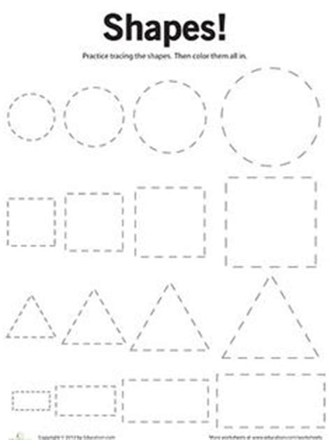 printable shapes for 3 year olds 17 best images of 87 free printable number worksheets