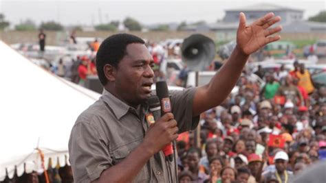latest zambia watch dog confirmed hh sick in jail but lungu says no medication