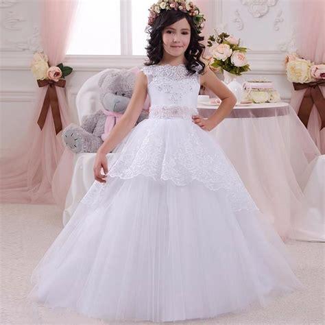 Model Gaun Pesta Anak Perempuan Warna Putih Lucu   Model