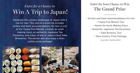 Japan Sweepstakes 2017 - sweepstakes ending soon january 2017 edition