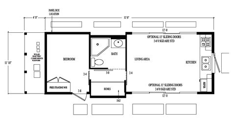 model floor plans off grid solar cavco park model
