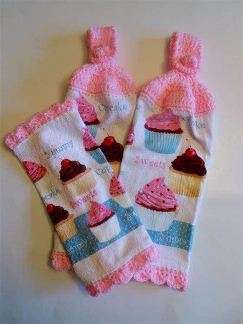 kitchen accessories cupcake design cupcake kitchen decor hanging towels pot kitchen