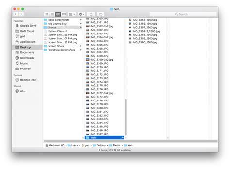 automator workflows mac batch photo resize with mac osx automator gad s ramblings