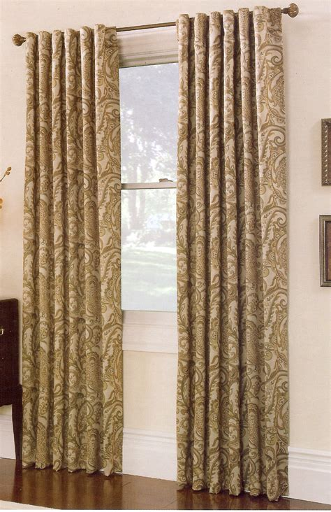 bali drapes bali printed blackout panel natural renaissance view