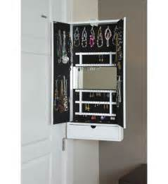 Mirror Jewelry Cabinet Mirrored Jewelry Cabinet Hinge Mounted In Jewelry Cabinets