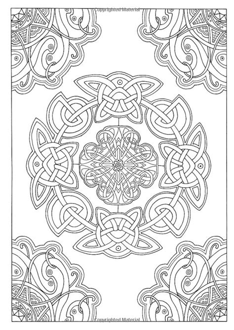 pattern art therapy art therapy celtic 100 designs colouring in and