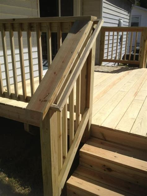 Deck Stairs Handrail 1292 best images about deck railing ideas on composite deck railing railing design