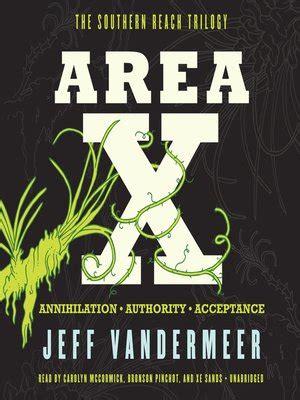Pdf Acceptance Novel Southern Reach Trilogy by Area X By Jeff Vandermeer 183 Overdrive Rakuten Overdrive