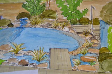 petit bassin de jardin