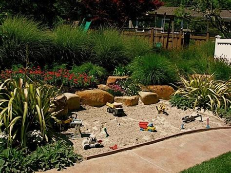 backyard play area landscaping kids backyard garden play areas summer kid spaces