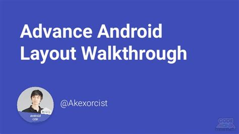 layout in android pdf advance android layout walkthrough