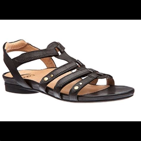 abeo sandals 81 the walking company shoes abeo black sandals