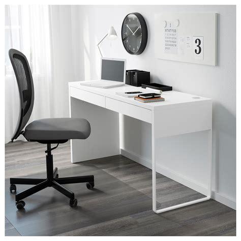 long desk for 2 micke desk white 142x50 cm ikea