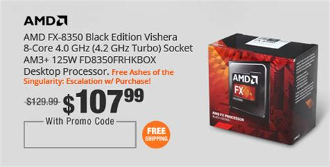 Sale Promo Amd Vishera Fx 6300 6 3 6ghz Am3 Newegg The Cpus Cards Of Your Dreams On