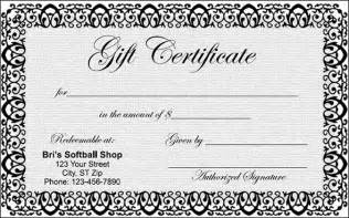 free blank gift certificate template gift certificate template 29 pdf psd word