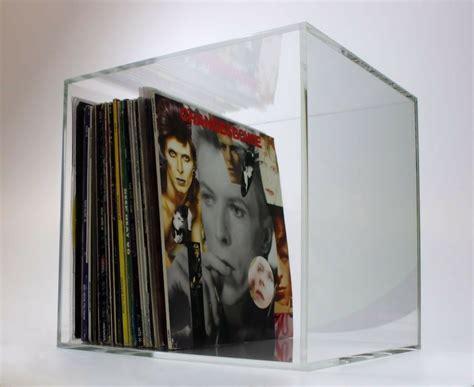 vinyl lp  record storage box fully assembled