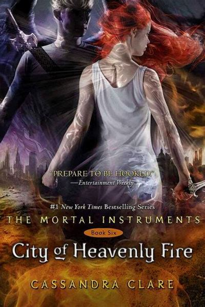 la copertina di quot shadowhunters city of heavenly fire quot sw tweens