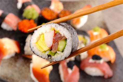 Heating Outdoor Spaces - futomaki recipe fat rolled sushi with vegetables