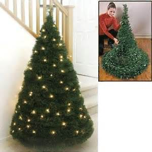 collapsible christmas tree