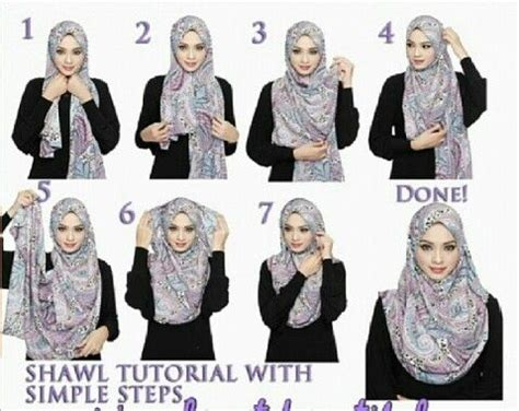 tutorial pashmina simple shawl tutorial with simple steps hijab tutorial and tips