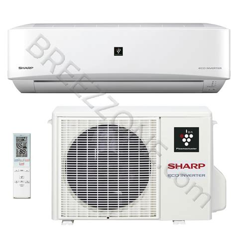 Ac Sharp Inverter 9000 btu sharp ductless mini split air conditioner heat