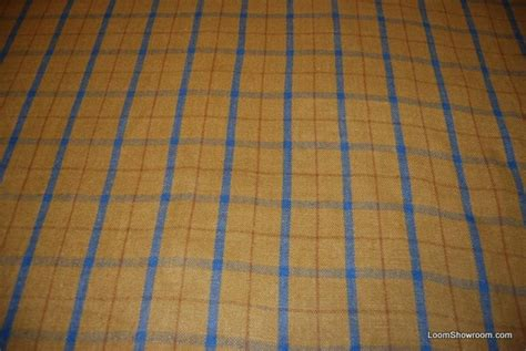 blue plaid upholstery fabric rl113 ralph lauren heavy wool plaid mustard yellow and