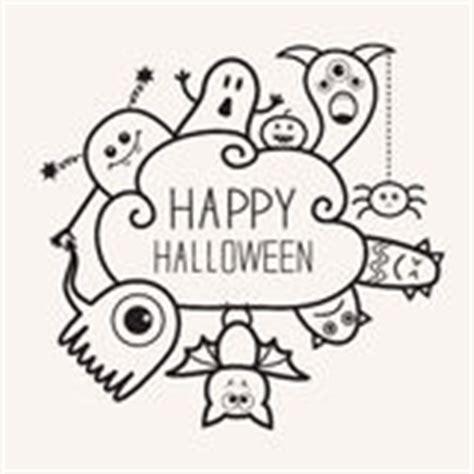 doodle zucca di etichetta di ringraziamento della zucca di scarabocchio