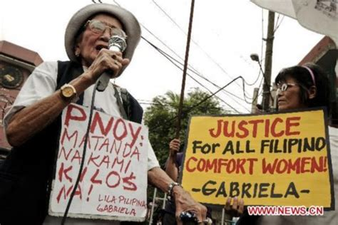 philippines comfort women philippine comfort women demand for justice 6 people s