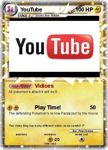utube card pok 233 mon 62 62 vidioes my card