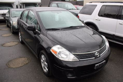 nissan tiida 2008 black 2008 nissan versa xl 4 door sedan black vin