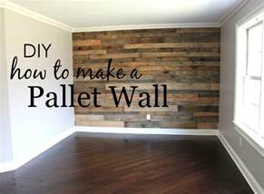 how to build a pallet wall project nursery