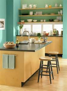 Green And Blue Kitchen Blue And Green Kitchen Home Pinterest