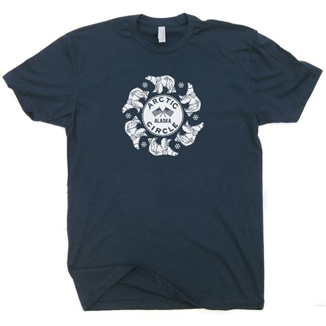 T Shirt Arctic 5 arctic circle t shirt polar t shirt alaska t shirt