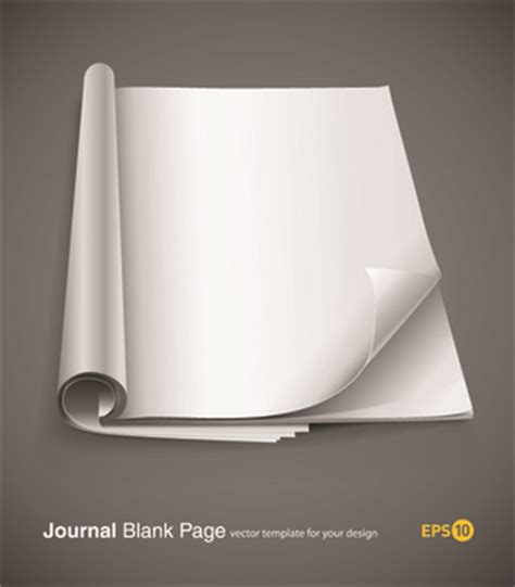 design journal blank cover page design template free vector download 13 425