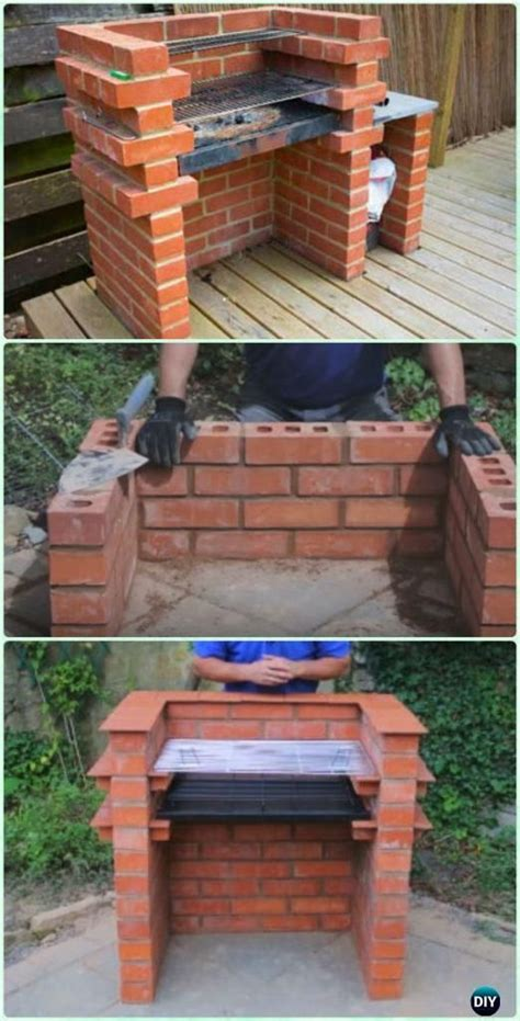 25 best ideas about brick grill on outdoor