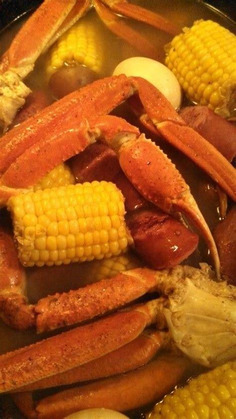 snow crab leg boil yes my dishes pinterest