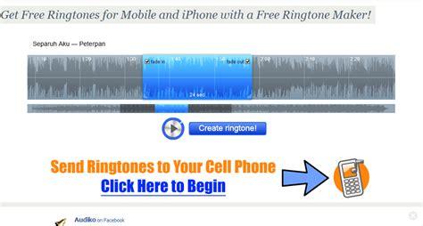 membuat ringtone untuk iphone cara membuat free iphone ringtones jailbreak and