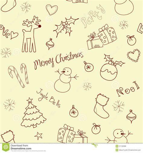 doodle doodle do doodle do natal fotos de stock royalty free imagem 21139388