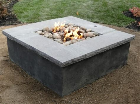How To Build A Gas Pit In Your Backyard by How To Build An Outdoor Gas Pit Pit Ideas
